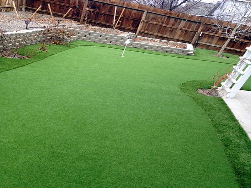 Artificial Lawn Installation Island