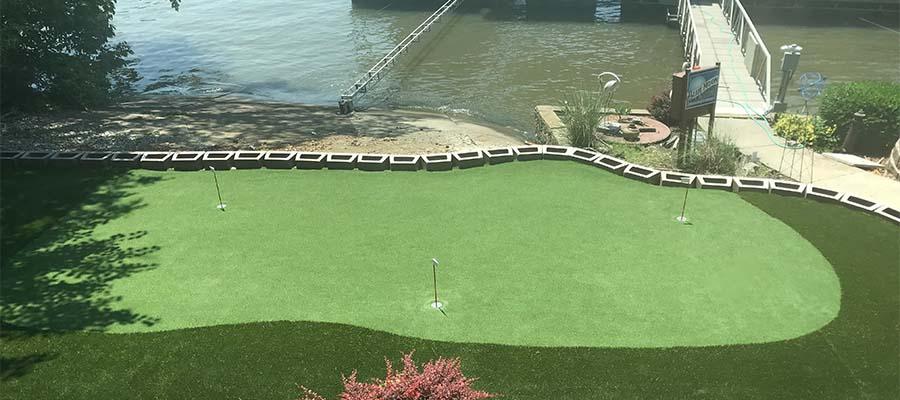 Artificial Putting Green Installation Little Rock