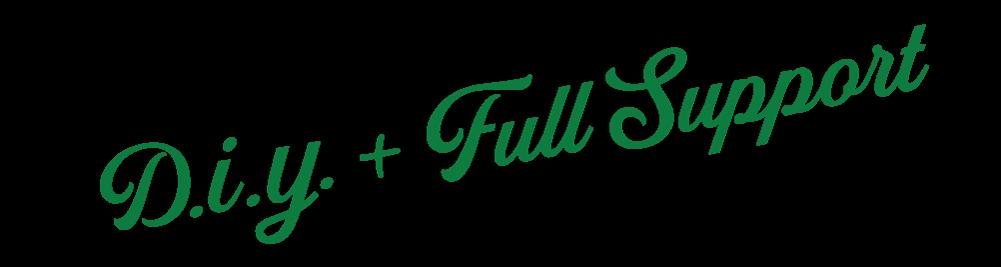 DIY + Full Support Logo