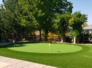Outdoor Golf Putting Green