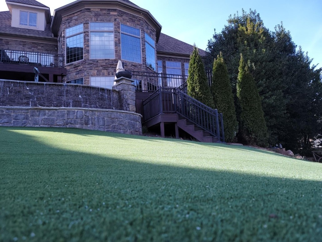 Artificial Putting Green Installation in Des Moines