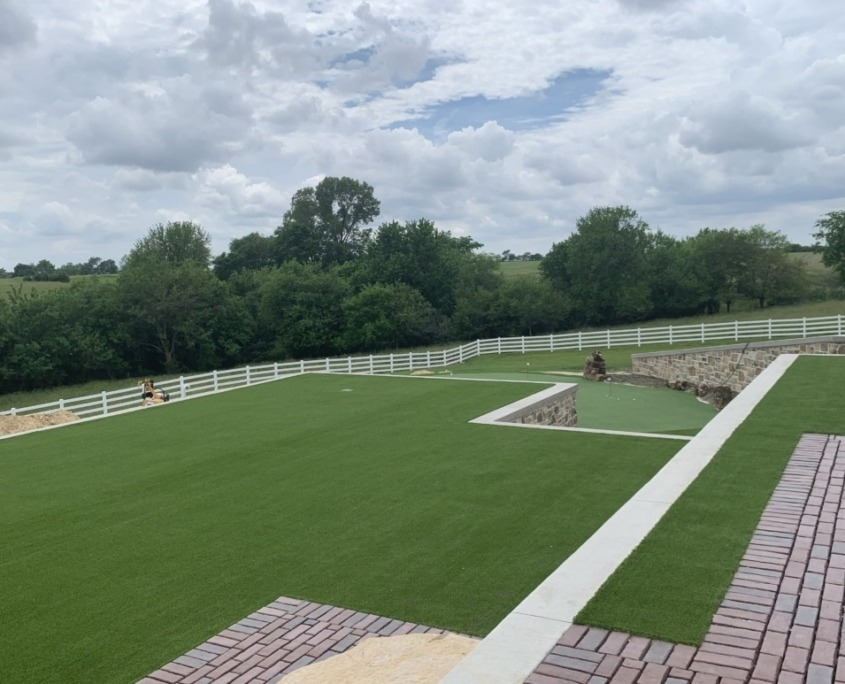 Artificial Putting Green Installation in Rochester, MN