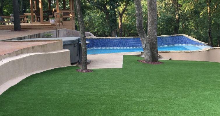 Artificial Putting Green Installation in Austin