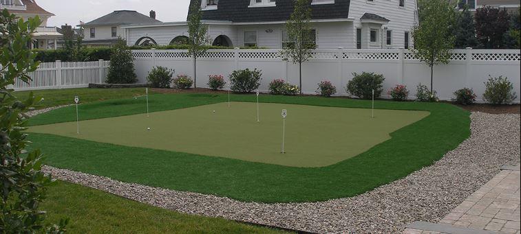 Artificial Putting Green Installation in Dallas