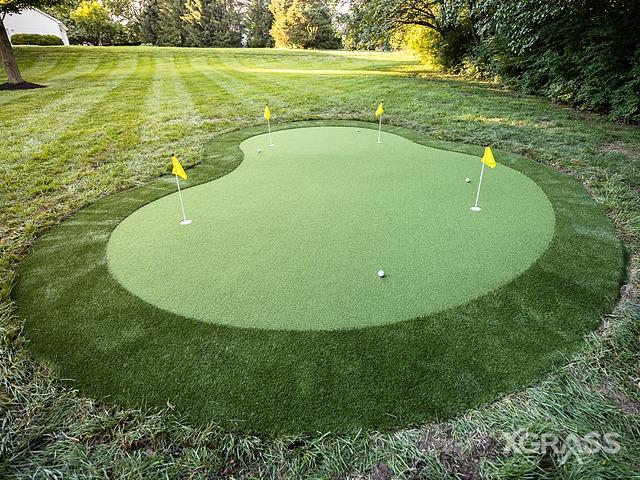 Artificial Putting Green Installation in Little Rock