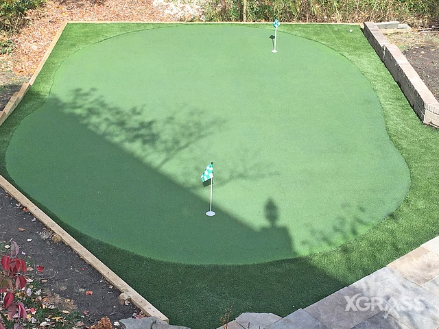 Artificial Putting Green Installation in Oklahoma City