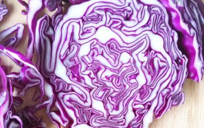 Warm Indian Cabbage Salad
