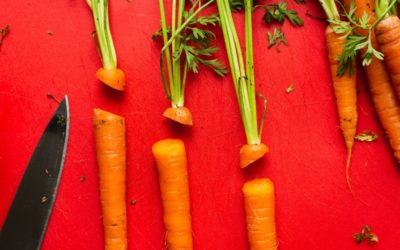 Roasted Carrots with Carrot-Top Pesto