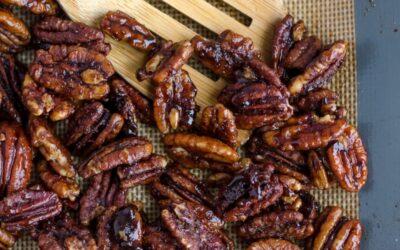 Sweet & Crunchy Cinnamon-Spiced Nuts