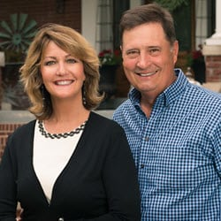 Claire and Jim Stiegemeier of Magnolia Real Estate
