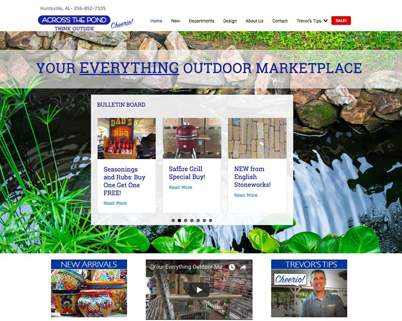 Across the Pond Website