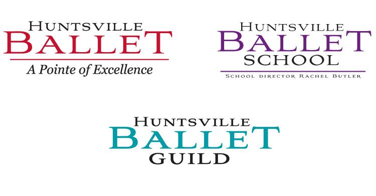 Huntsville Ballet logos