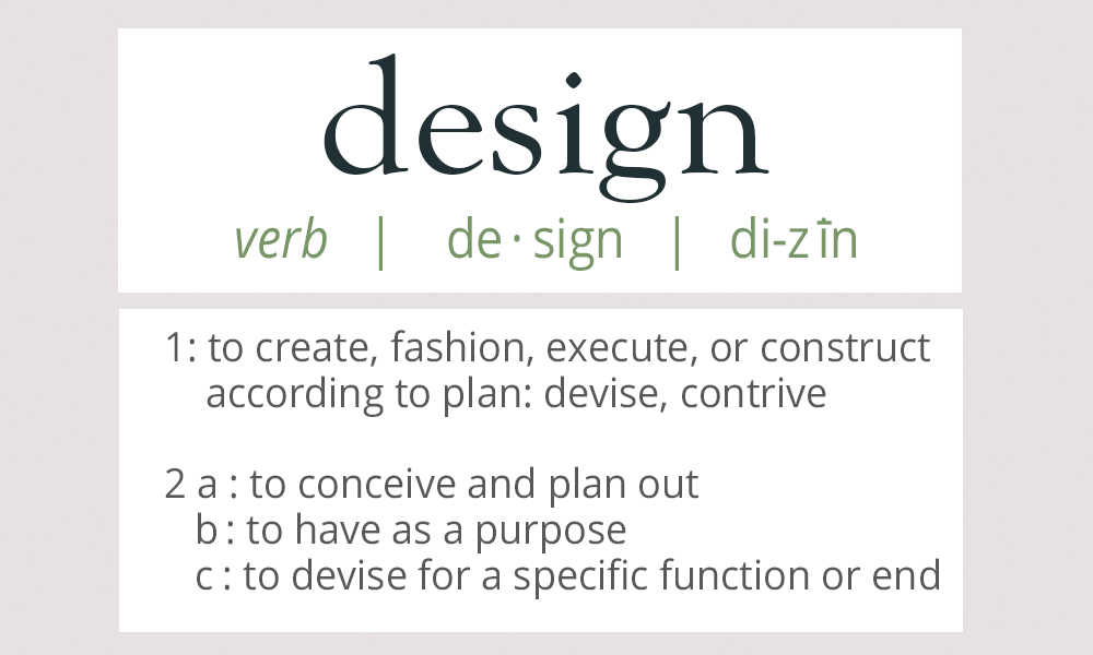 think like a graphic designer