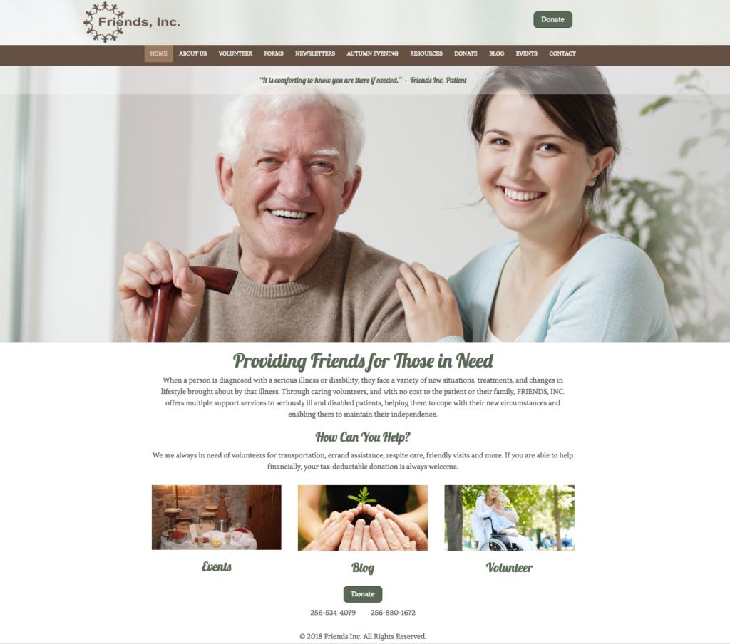 Home Page Friendsinc