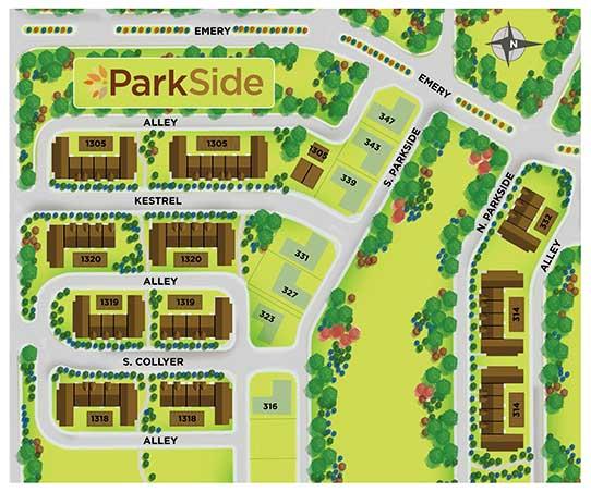 Parkside SitePlan