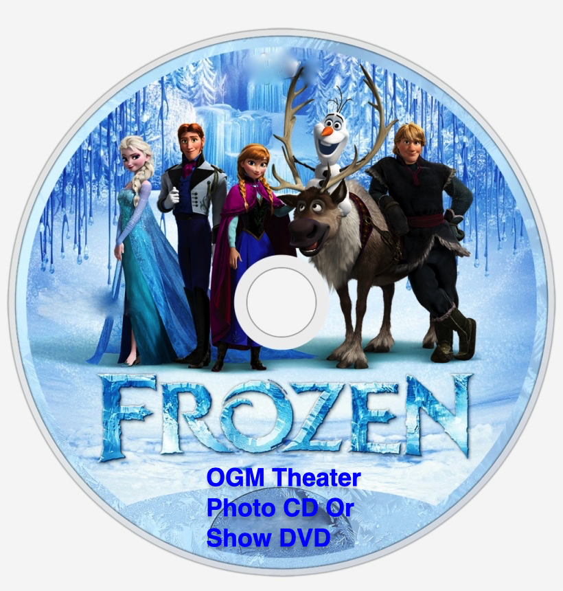 Frozen CD and DVD