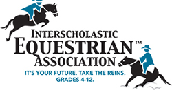 IEA logo with two horses