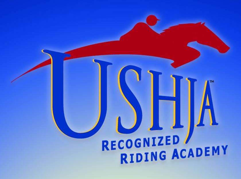 USHJA recognized riding academy logo