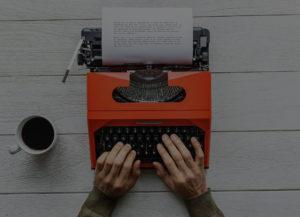 Typewriter mastering your past