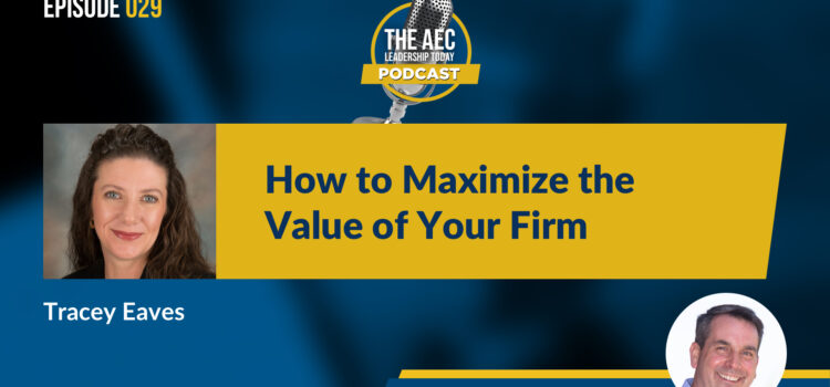 Episode 029: How to Maximize the Value of Your Firm