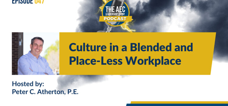Episode 047: Culture in a Blended and Place-Less Workplace