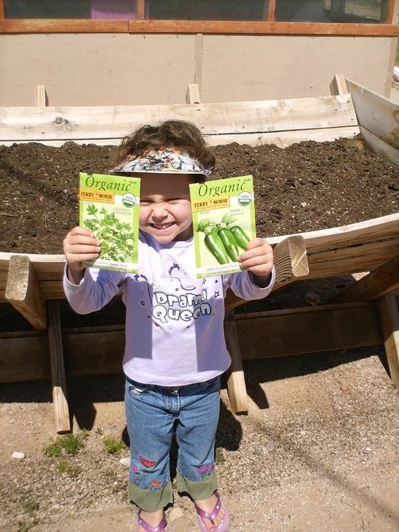 Kids love gardening!