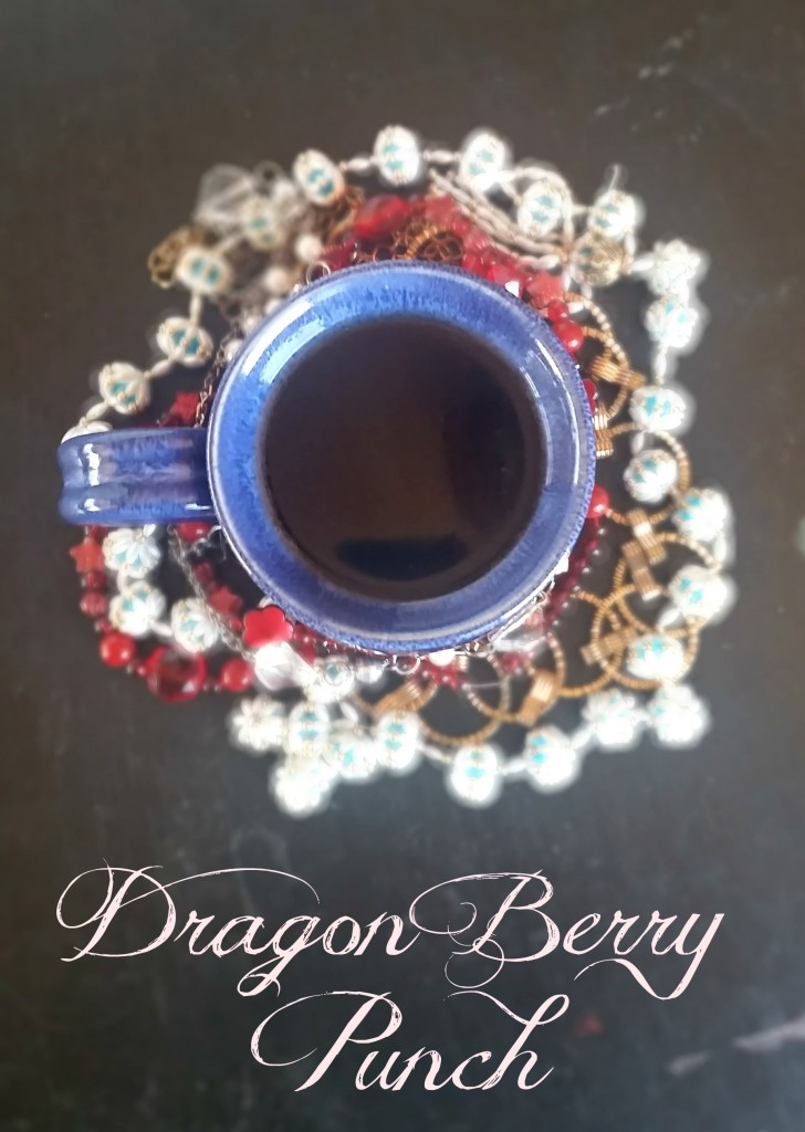 Dragon Berry Punch (Just 2 ingredients and dye-free!)