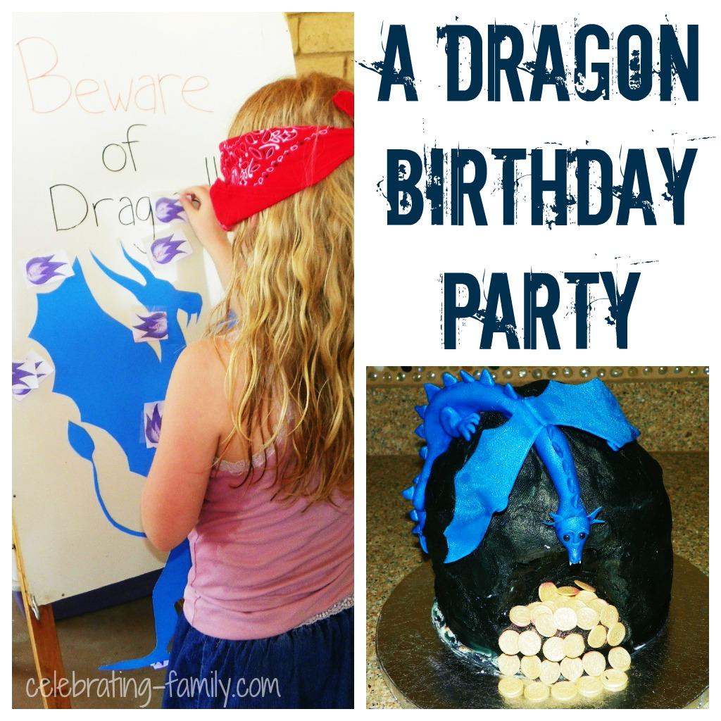 Dragon Birthday Party Ideas