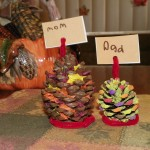Easy Thanksgiving Place Card Holders