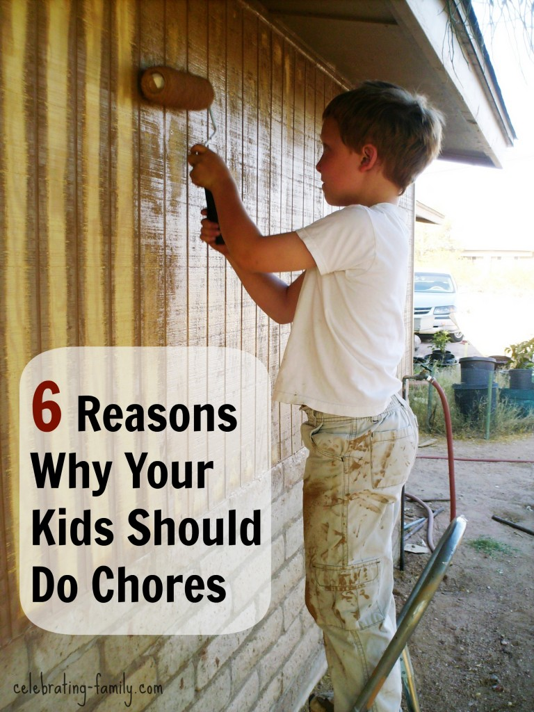 Why Your Kids Should Do Chores