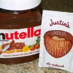 Taste Test: Nutella vs. Justin's Chocolate Hazelnut Butter