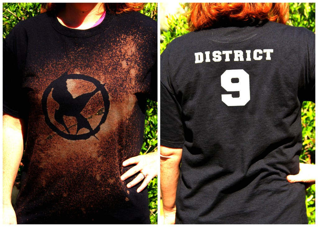 DIY Hunger Games Shirts by Celebrating Family