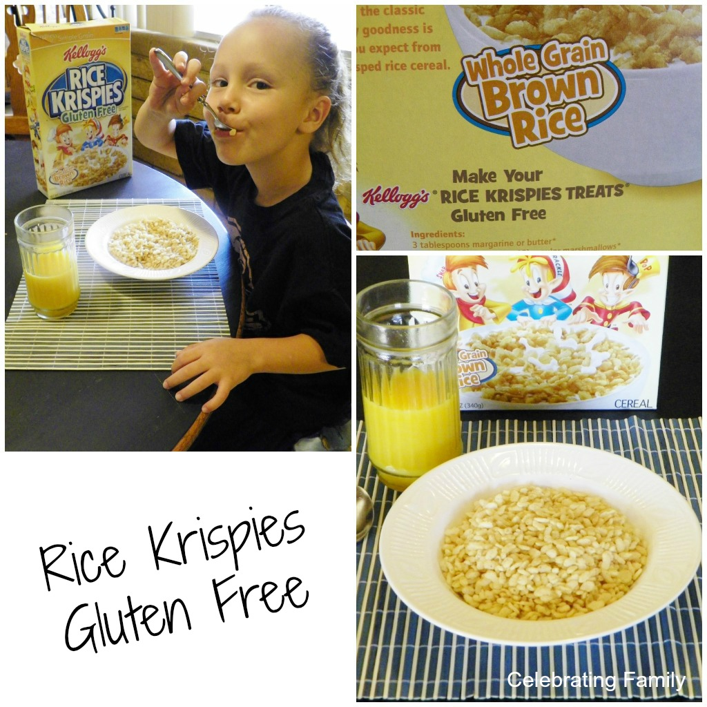 gluten free rice krispies