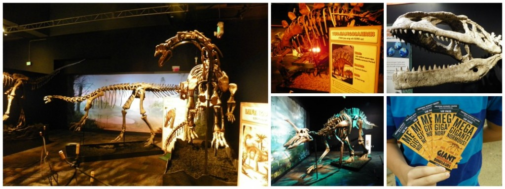Giant Mysterious Dinosaurs Exhibit