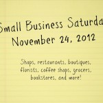 Small Business Saturday: Support America's Lifeblood