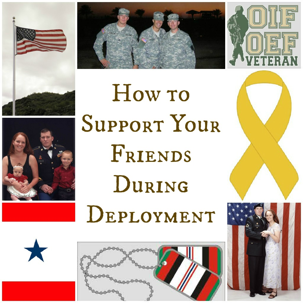 How To Support Your Friends During Deployment