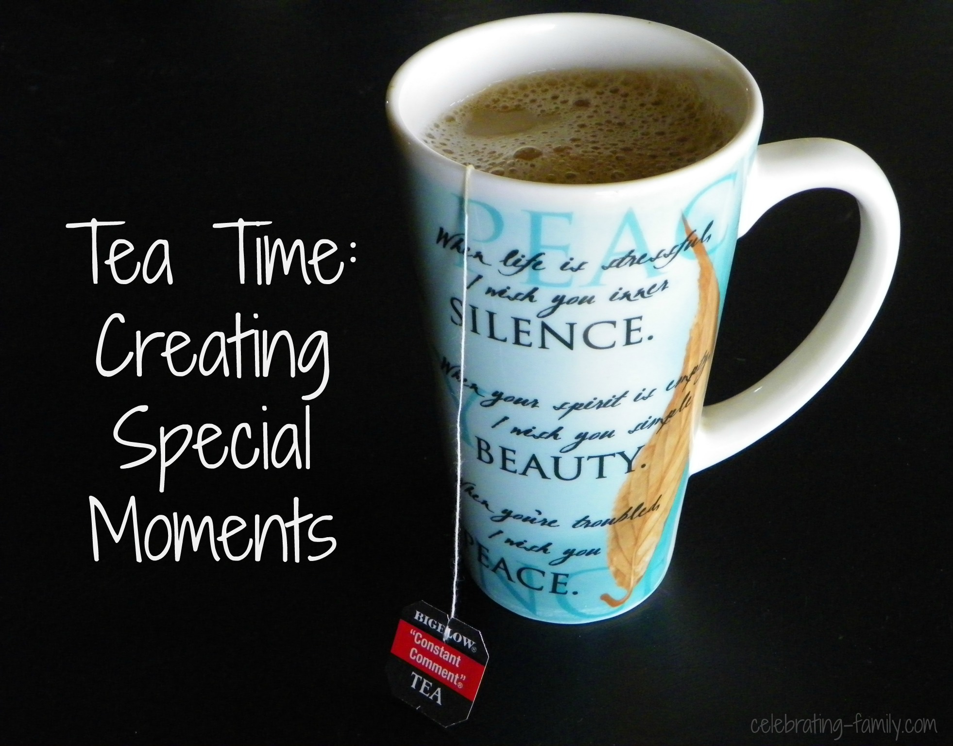 Tea Time Creating Special Moments