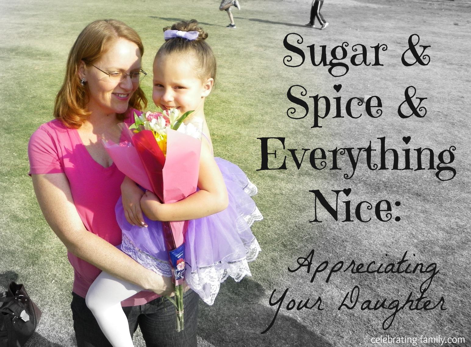 Appreciating Your Daughter