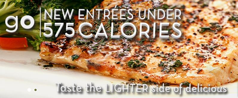 Olive Garden's Lighter Fare Menu