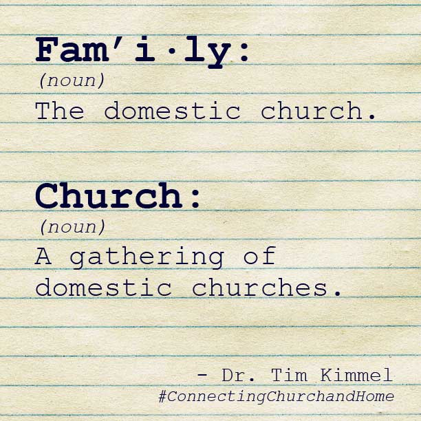 Connecting Church And Home