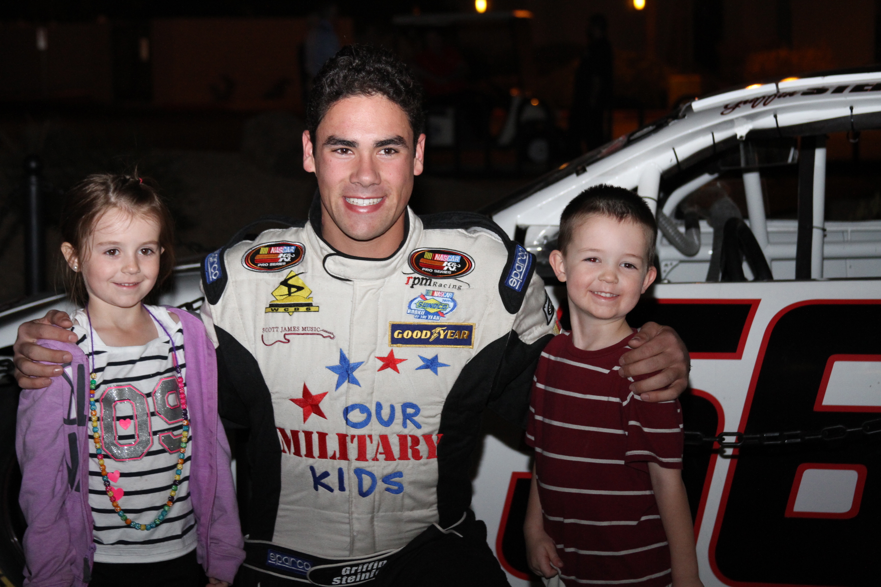 Our Military Kids and NASCAR