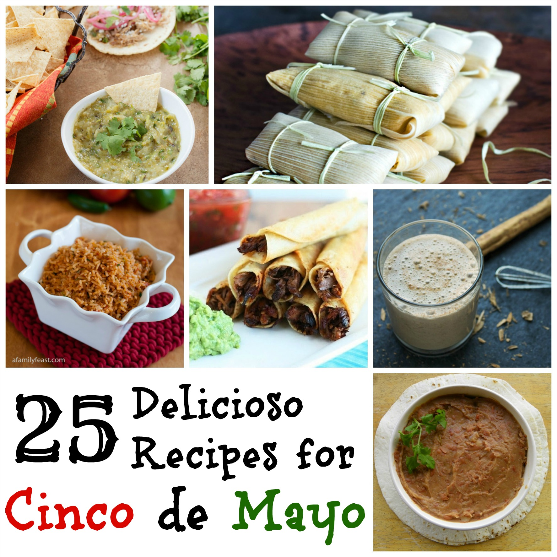 Recipes for Cinco de Mayo
