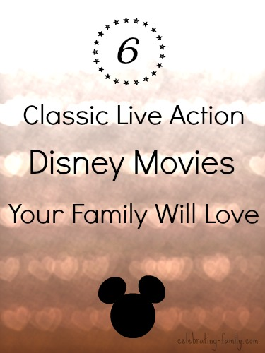 Live Action Disney Movies Your Family Will Love