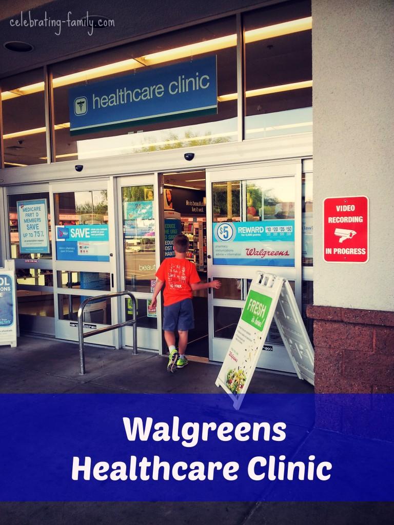 Walgreens #HeathcareClinic #shop