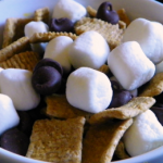 S'mores Trail Mix (and Campfire Safety Tips)