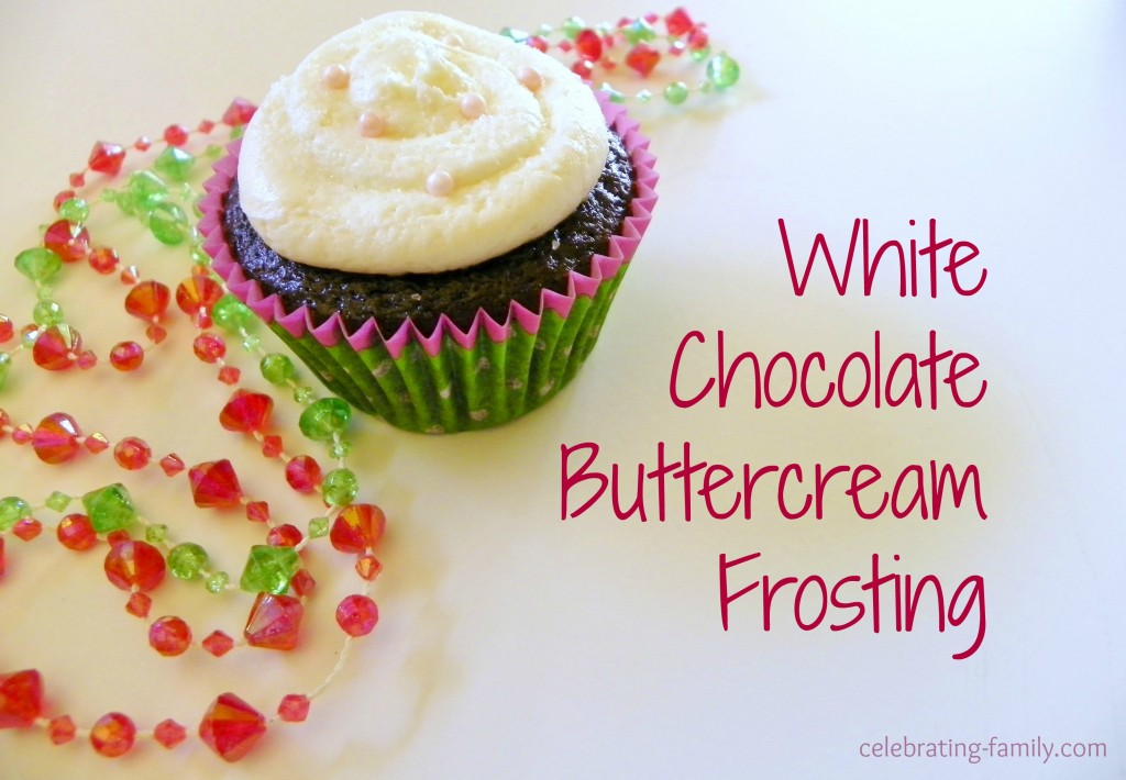 White Chocolate Buttercream Frosting
