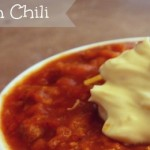 Pumpkin Chili in the Slow Cooker, Easy and Kid-Friendly