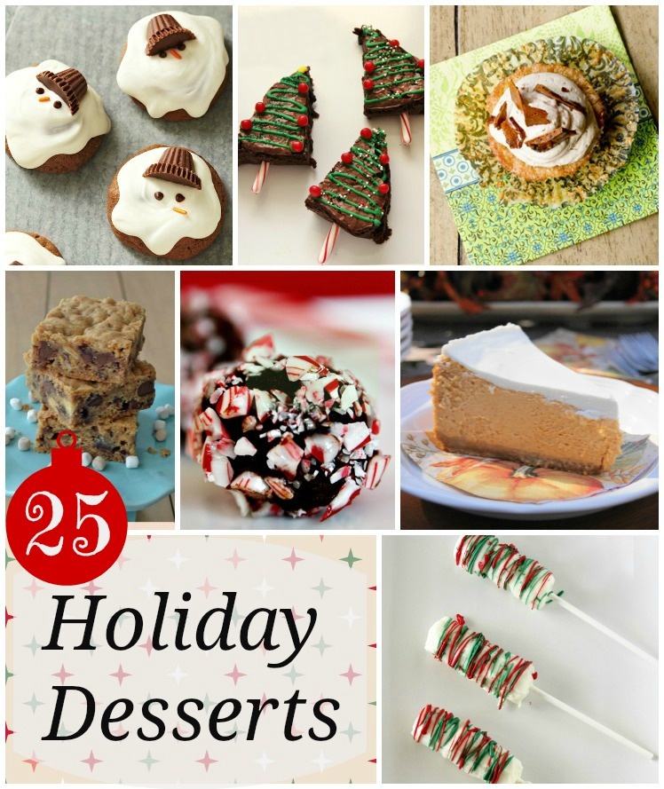 25 Holiday Desserts