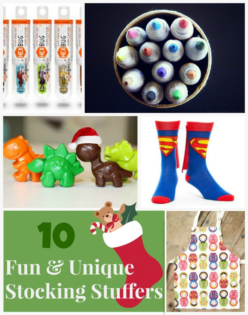 10 Fun and Unique Stocking Stuffer Ideas #Christmas