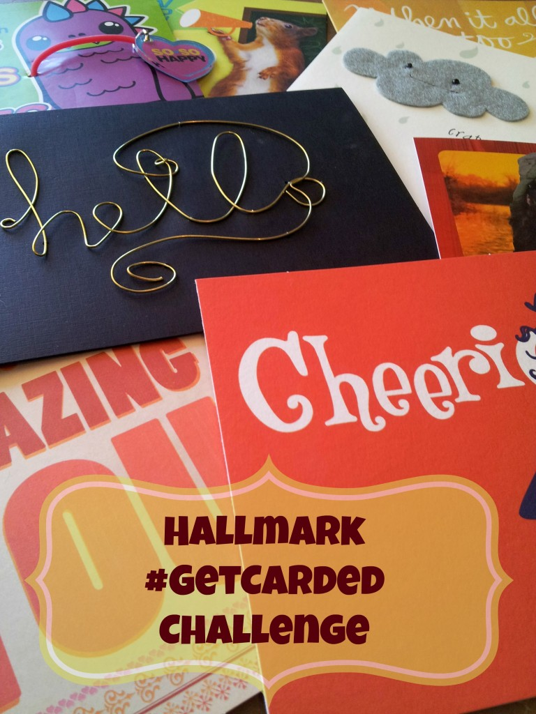 Take the Hallmark #GetCarded Challenge